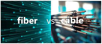 Fiber vs. cable: What's the difference?
