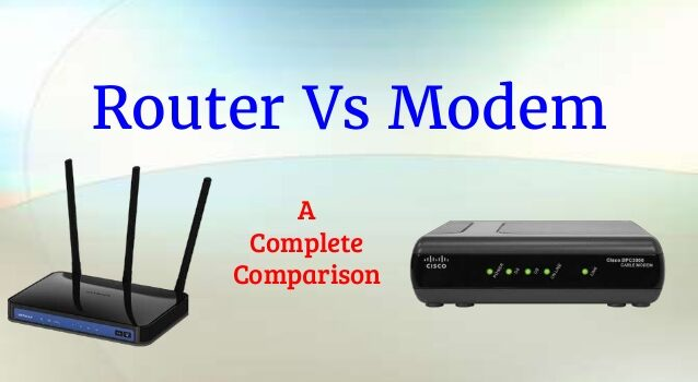 What's the difference between a modem and a router?